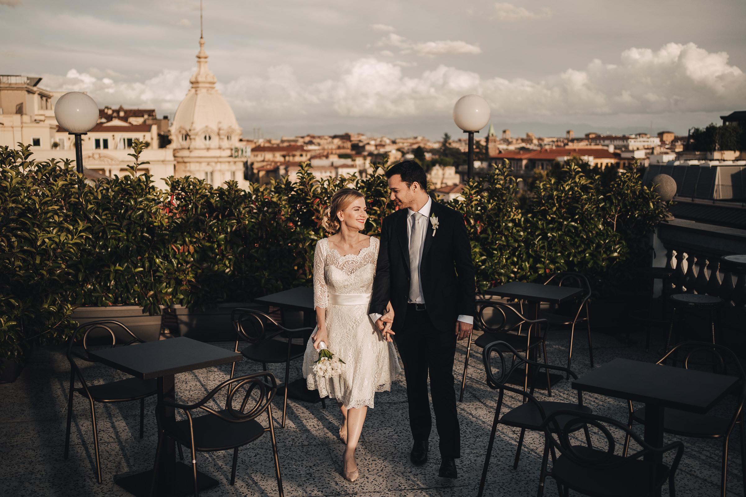 Sposi Russi vestiti da La vie En Blanc Atelier e Carosi Uomo (5)